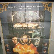 Cine: LA VERDADERA HISTORIA DE FRANKENSTEIN MICHAEL SARRAZIN POSTER ORIGINAL 70X100. Lote 22160759