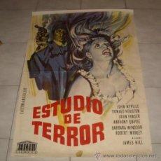 Cine: ESTUDIO DE TERROR,AÑO 1966. Lote 22357802