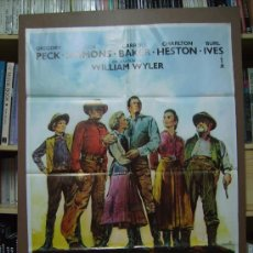 Cine: HORIZONTES DE GRANDEZA, POSTER.. Lote 183974003