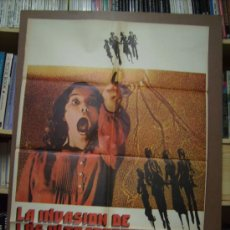 Cine: LA INVASION DE LOS ULTRACUERPOS, POSTER. 69 X 100 CMS.1981.. Lote 277302458
