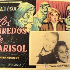 Cine: TOMBOLA (LOS ENREDOS DE MARISOL) 1962 (LOBBY CARD ORIGINAL). Lote 26148126