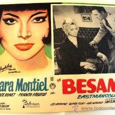 Cine: NOCHES DE CASABLANCA (BESAME) 1963 SARA MONTIEL (LOBBY CARD ORIGINAL). Lote 26148143