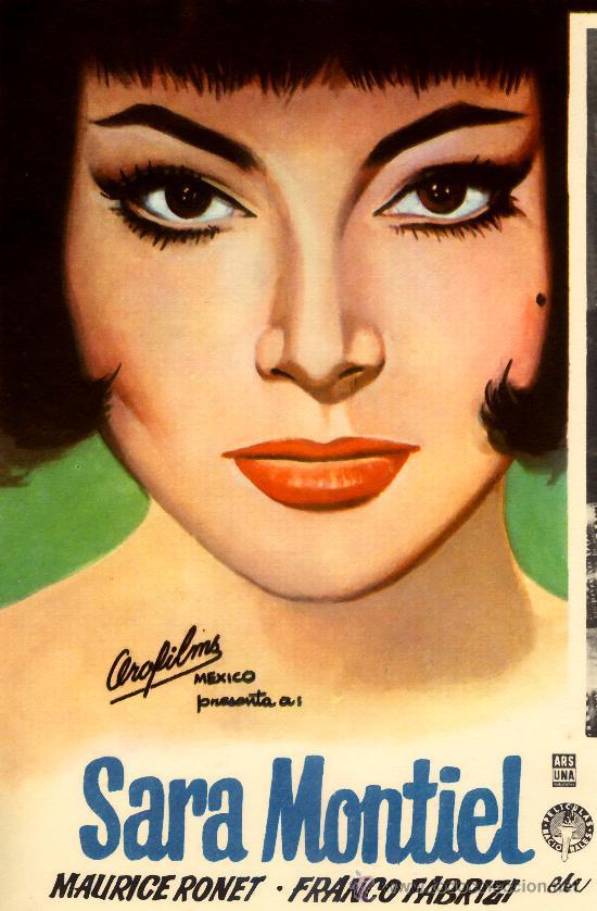 Cine: NOCHES DE CASABLANCA (BESAME) 1963 SARA MONTIEL (LOBBY CARD ORIGINAL) - Foto 2 - 26148143