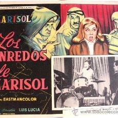 Cine: TOMBOLA (LOS ENREDOS DE MARISOL) 1962 (LOBBY CARD ORIGINAL). Lote 25043005