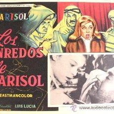 Cine: TOMBOLA (LOS ENREDOS DE MARISOL) 1962 (LOBBY CARD ORIGINAL). Lote 26148116