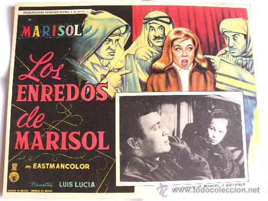 TOMBOLA (LOS ENREDOS DE MARISOL) 1962 (LOBBY CARD ORIGINAL) (Cine - Posters y Carteles - Musicales)