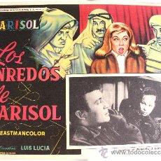 Cine: TOMBOLA (LOS ENREDOS DE MARISOL) 1962 (LOBBY CARD ORIGINAL). Lote 25043019
