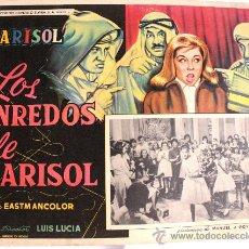 Cine: TOMBOLA (LOS ENREDOS DE MARISOL) 1962 (LOBBY CARD ORIGINAL). Lote 24864106