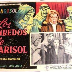 Cine: TOMBOLA (LOS ENREDOS DE MARISOL) 1962 (LOBBY CARD ORIGINAL). Lote 26148146
