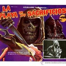 Cine: LA NOCHE DE LAS GAVIOTAS 1975 (LA PLAYA DE LOS SACRIFICIOS)(ESPECTACULAR LOBBY CARD ORIGINAL)TERROR . Lote 26148139