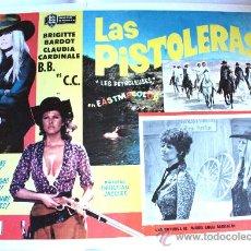 Cine: LAS PETROLERAS1971 (LAS PISTOLERAS) BRIGITTE BARDOT CLAUDIA CARDINALE (LOBBY CARD ORIGINAL). Lote 24864098