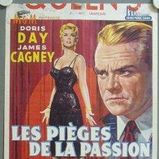 Cine: KMP 806D LOVE ME OR LEAVE ME DORIS DAY JAMES CAGNEY POSTER ORIGINAL BELGA 36X49. Lote 23001985