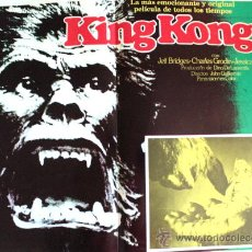 Cine: KING KONG (ESPECTACULAR LOBBY CARD ORIGINAL) JESSICA LANGE - JEFF BRIDGES. Lote 26148128