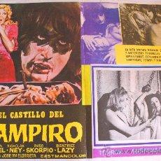 Cine: LA LLAMADA DEL VAMPIRO 1972 (EL CASTILLO DEL VAMPIRO) (LOBBY CARD ORIGINAL) TERROR ESPAÑOL DE CULTO . Lote 26012722