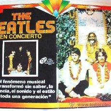 Cine: THE BEATLES EN CONCIERTO (ESPECTACULAR LOBBY CARD ORIGINAL). Lote 24864128