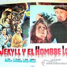 Cine: DR. JEKYLL Y EL HOMBRE LOBO 1972(ESPECTACULAR LOBBY CARD ORIGINAL) TERROR DE CULTO PAUL NASCHY. Lote 26148134