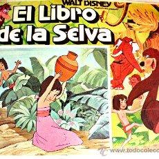 Cine: EL LIBRO DE LA SELVA (WALT DISNEY) (ESPECTACULAR LOBBY CARD ORIGINAL). Lote 26148130