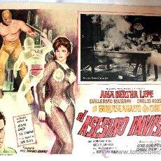 Cine: EL ASESINO INVISIBLE 1964 EL ENMASCARADO DE ORO (LOBBY CARD ORIGINAL) ANA BERTHA LEPE. Lote 25071809
