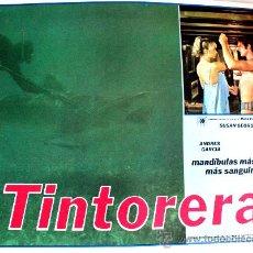 Cine: TINTORERA 1977 (ESPECTACULAR LOBBY CARD ORIGINAL) SUSAN GEORGE. Lote 26477123