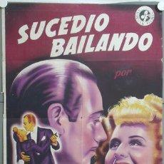 Cine: CCJ KMP 530D SUCEDIO BAILANDO NORMA SHEARER POSTER ORIGINAL 70X100 ESTRENO LITOGRAFIA. Lote 22853835