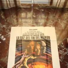 Cine: CARTEL CINE LA LUZ DEL FIN DEL MUNDO 1971 KIRK DOUGLAS YUL BRYNNER 100X70. Lote 52358043