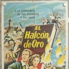 Cine: KMP 645D THE GOLDEN HAWK RHONDA FLEMING STERLING HAYDEN POSTER ORIGINAL ARGENTINO 75X110. Lote 23120950