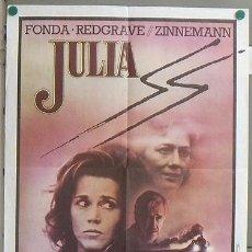 Cine: KMP 740 JULIA JANE FONDA VANESSA REDGRAVE POSTER ORIGINAL FRANCES 60X80. Lote 23164913