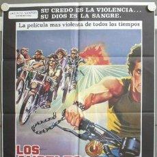 Cine: ND73 LOS ANGELES DEL INFIERNO ROGER CORMAN PETER FONDA POSTER ORIGINAL 70X100 ESPAÑOL. Lote 23300144