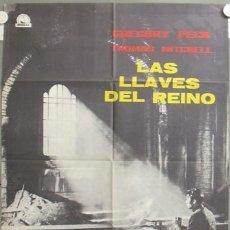 Cine: ND83 LAS LLAVES DEL REINO GREGORY PECK POSTER ORIGINAL 70X100 ESPAÑOL. Lote 23310021