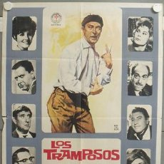 Cine: ND97 LOS TRAMPOSOS TONY LEBLANC CONCHA VELASCO PEDRO LAZAGA POSTER ORIGINAL 70X100. Lote 23311639