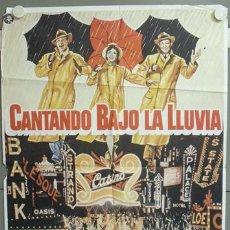 Cine: NE04 CANTANDO BAJO LA LLUVIA GENE KELLY DEBBIE REYNOLDS POSTER ORIGINAL 70X100. Lote 23311933
