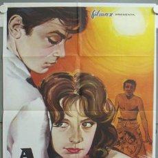 Cinéma: NE25D A PLENO SOL A PLEIN SOLEIL ALAIN DELON POSTER 70X100 ORIGINAL ESPAÑOL. Lote 23378469