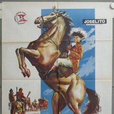 Cine: NE77 EL PEQUEÑO CORONEL JOSELITO POSTER ORIGINAL ESTRENO 70X100. Lote 23401966