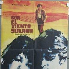 Cine: NF29 CON EL VIENTO SOLANO IMPERIO ARGENTINA ANTONIO GADES POSTER ORIGINAL 70X100 ESTRENO. Lote 23433158