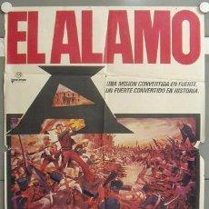 Cine: NF57 EL ALAMO JOHN WAYNE POSTER ORIGINAL 70X100 ESPAÑOL. Lote 23436446