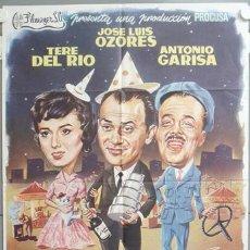 Cine: NG42 EL GAFE JOSE LUIS OZORES ANTONIO GARISA PEDRO L. RAMIREZ RUMBO POSTER ORIGINAL 70X100 ESTRENO. Lote 23533551