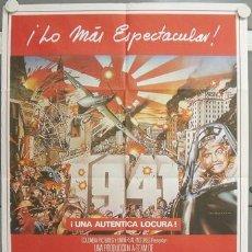 Cine: NJ15 1941 STEVEN SPIELBERG JOHN BELUSHI POSTER ORIGINAL 70X100 ESTRENO. Lote 23795869