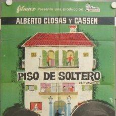 Cine: NJ25 PISO DE SOLTERO ALBERTO CLOSAS CASSEN POSTER ORIGINAL MCP POSTER ORIGINAL 70X100 ESTRENO. Lote 23796419