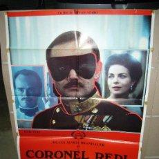 Cine: CORONEL REDL KLAUS MARIA BRANDAUER POSTER ORIGINAL 70X100 D87. Lote 23823064