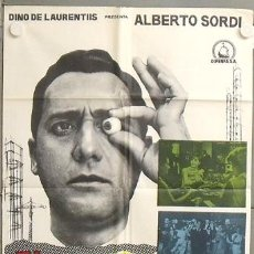 Cine: NL04 EL ESPECULADOR ALBERTO SORDI VITTORIO DE SICA POSTER ORIGINAL ESTRENO 70X100. Lote 23977357