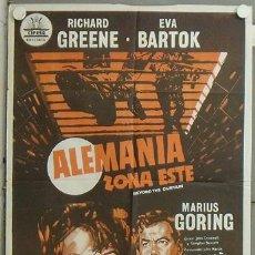 Cine: NL61 ALEMANIA ZONA ESTE RICHARD GREENE EVA BARTOK POSTER ORIGINAL 70X100 ESTRENO. Lote 23999149
