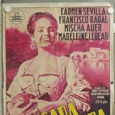 Cine: NL93 LA PICARA MOLINERA CARMEN SEVILLA CIFESA POSTER ORIGINAL 70X100 ESTRENO LITOGRAFIA. Lote 24015455