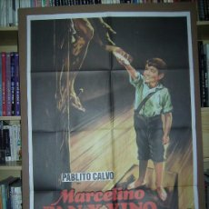 Cine: MARCELINO PAN Y VINO, CON PABLITO CALVO. POSTER.. Lote 26503765
