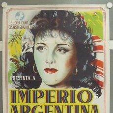 Cine: NM19 BAMBU IMPERIO ARGENTINA SARA MONTIEL POSTER ORIGINAL 70X100 ESTRENO LITOGRAFIA. Lote 24256437