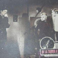 Cine: CARTEL-CARTELERA CARTON ANTIGUA PELICULA DE LA TIERRA A LA LUNA -DIRECTOR BYRON HASKIN. Lote 27263602