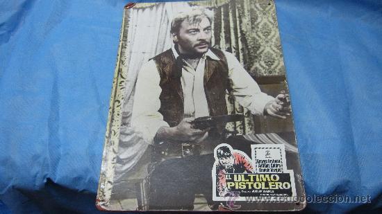 CARTEL-CARTELERA CARTON ANTIGUA PELICULA EL ULTIMO PISTOLERO-DIRECTOR JOSEPT WARREN (Cine - Posters y Carteles)