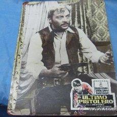 Cine: CARTEL-CARTELERA CARTON ANTIGUA PELICULA EL ULTIMO PISTOLERO-DIRECTOR JOSEPT WARREN. Lote 27263603
