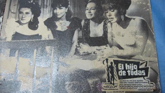 Cine: CARTEL-CARTELERA CARTON ANTIGUA CINE EL HIJO DE TODAS-DIRECTOR JULIAN SOLER - Foto 3 - 27263605