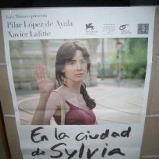 Cine: EN LA CIUDAD DE SYLVIA PILAR LOPEZ DE AYALA POSTER ORIGINAL 70X100. Lote 24472162