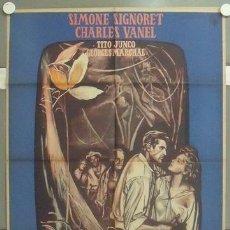 Cine: NO55 LA MUERTE EN ESTE JARDIN LUIS BUÑUEL SIMONE SIGNORET POSTER ORIGINAL MEJICANO 70X94. Lote 24597195
